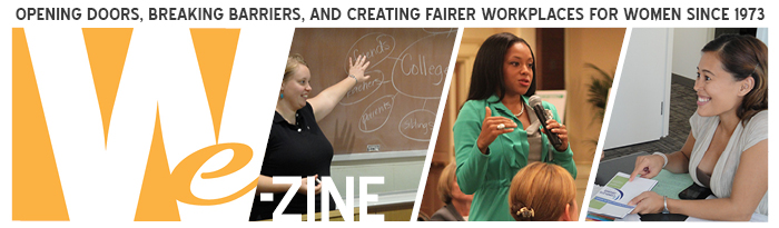 WE-Zine, Women Employed's monthly e-newsletter