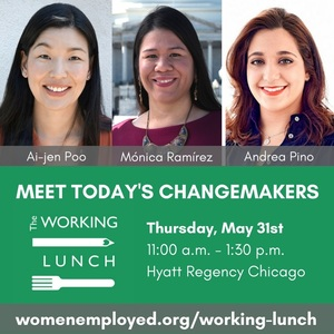 Meet Today's Changemakers at The Working Lunch!