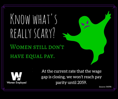 The wage gap is scary.