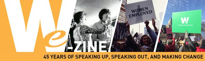 WE-Zine, Women Employed's monthly e-newsletter