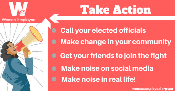 Take Action with WE!