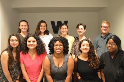 Members of WE's 2018 Summer Leadership Program